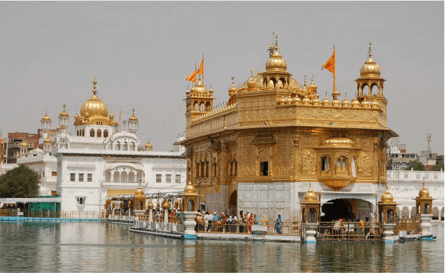 GOLDEN TRIANGLE TOUR WITH GOLDEN TEMPLE PICTURE