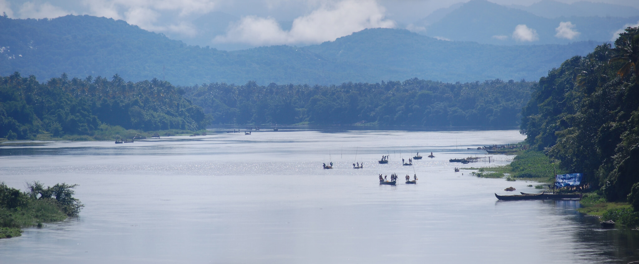 Periyar River Kerala