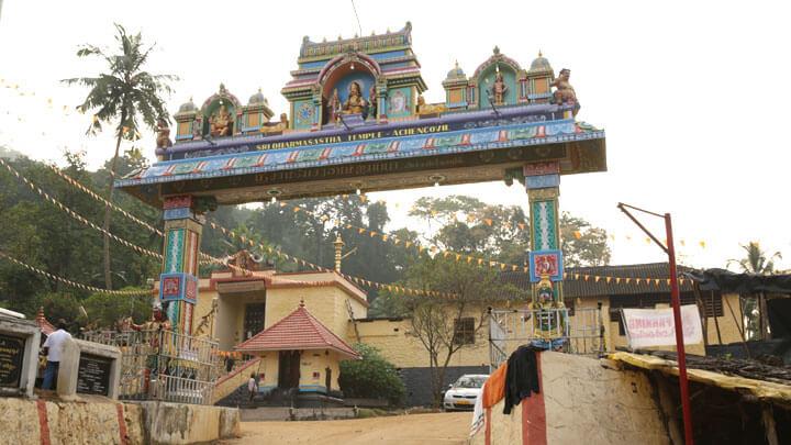 Achankovil Temple in Kollam