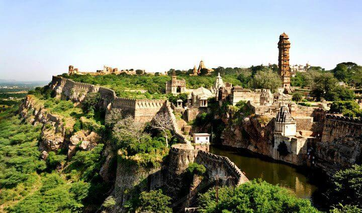 Chittorgarh Fort, Rajasthan India