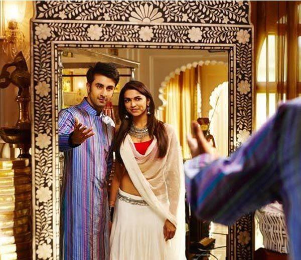 Ranbir Deepika Padukone - Yeh Jawani Hein Diwani Movie Shooting at Udaivilas Hotel