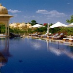 Swimming Pool at Udaivilas Hotel