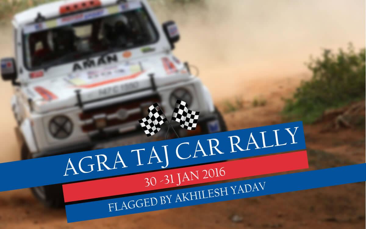 Agra Taj Car Rally 2016