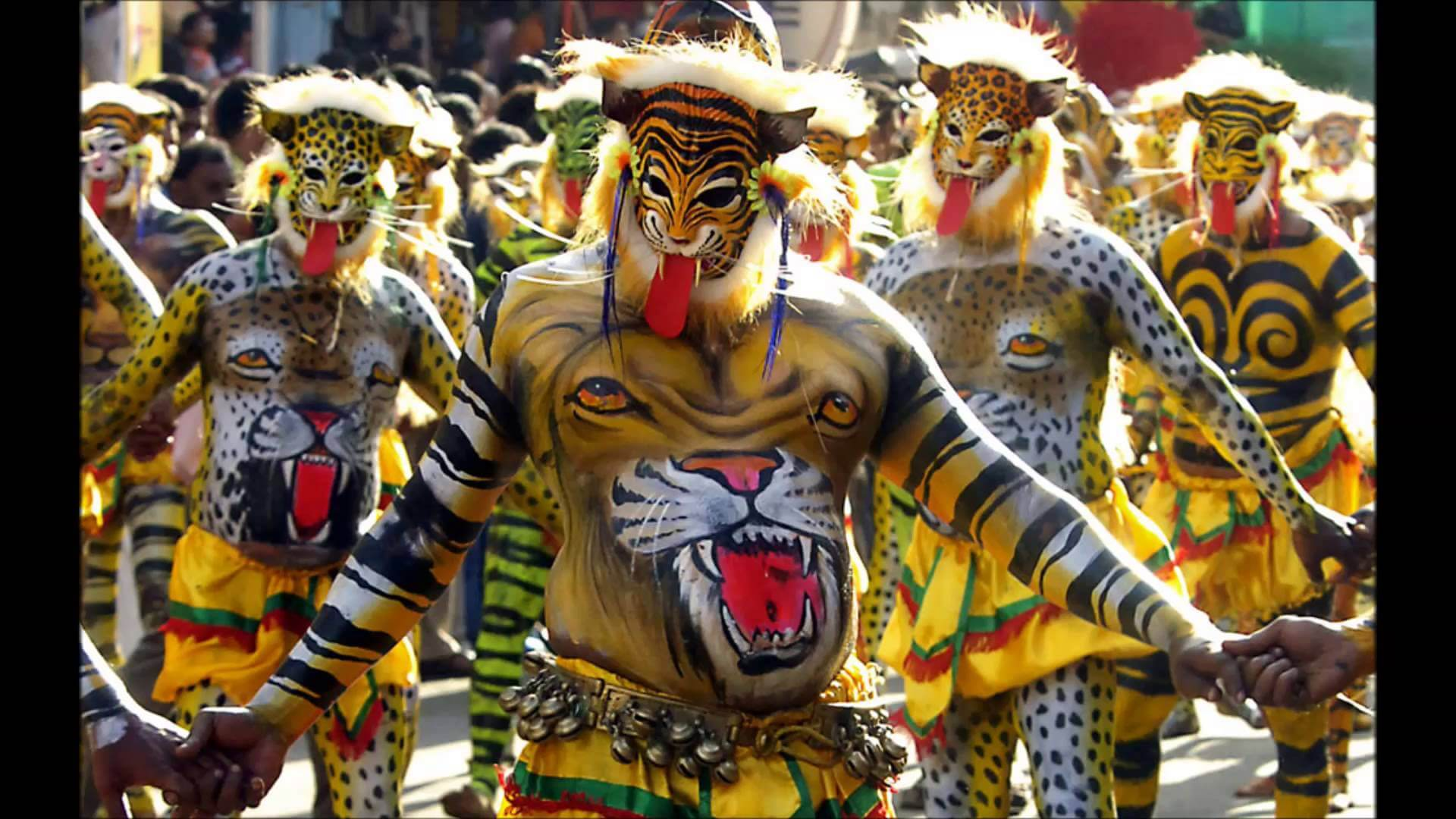 Pulikali Festival, Kerala