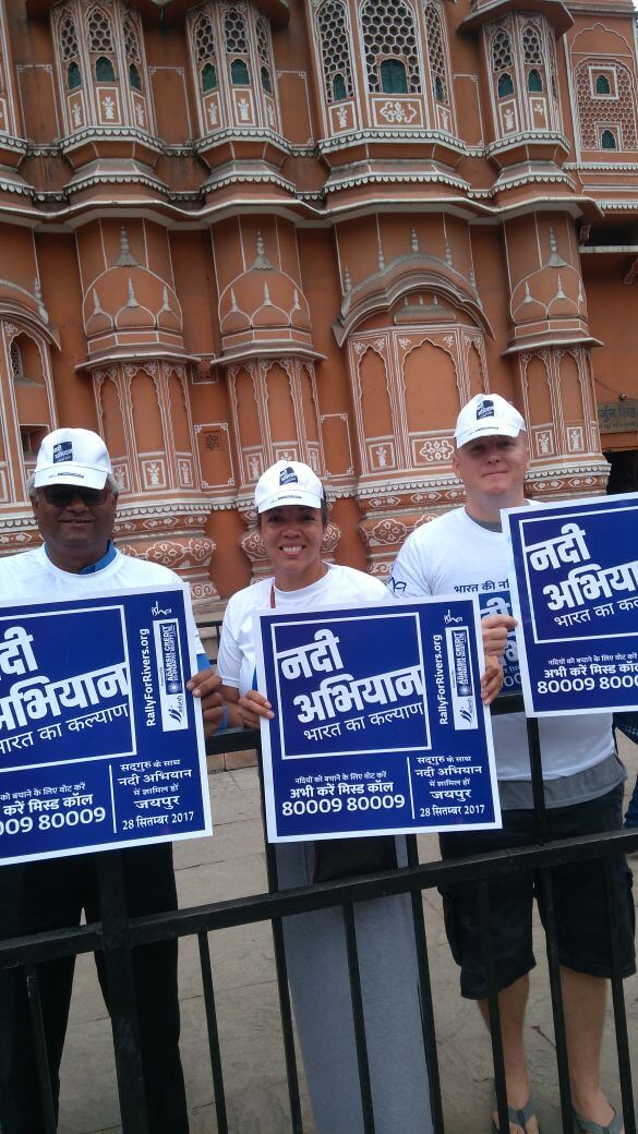 Rally for Rivers Jaipur