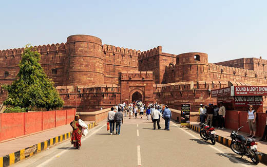 Agra Fort, Agra.