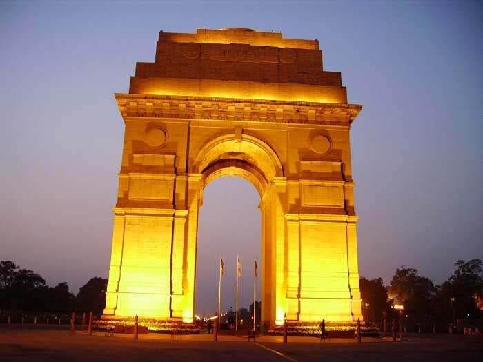 India Gate, New Delhi.
