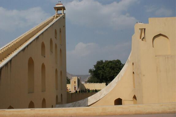 Jantar Mantar monument in Jaipur.