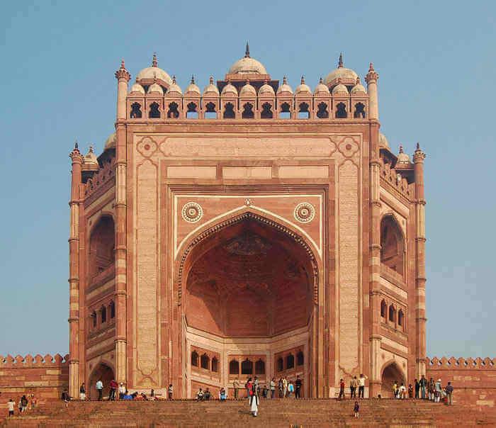 Fatehpur Sikiri Buland Darwaza Gate