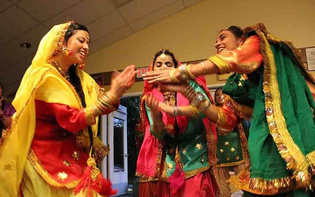 Giddha Dance Teejyan Punjab Teej Festival.