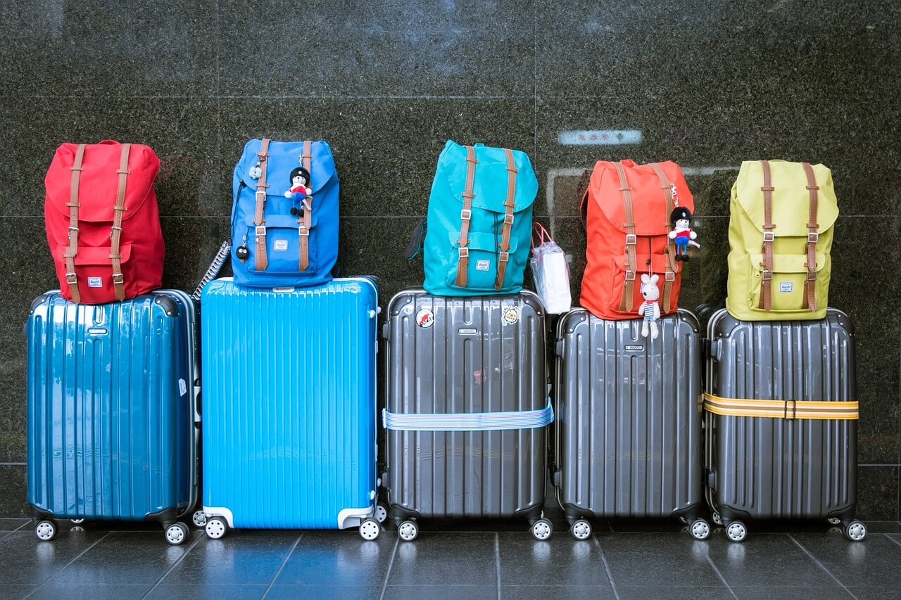 Travel Packing Suitcase and Bags